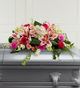 The FTD Splendid Grace Casket Spray - Winnipeg Flower Delivery by Broadway Florists