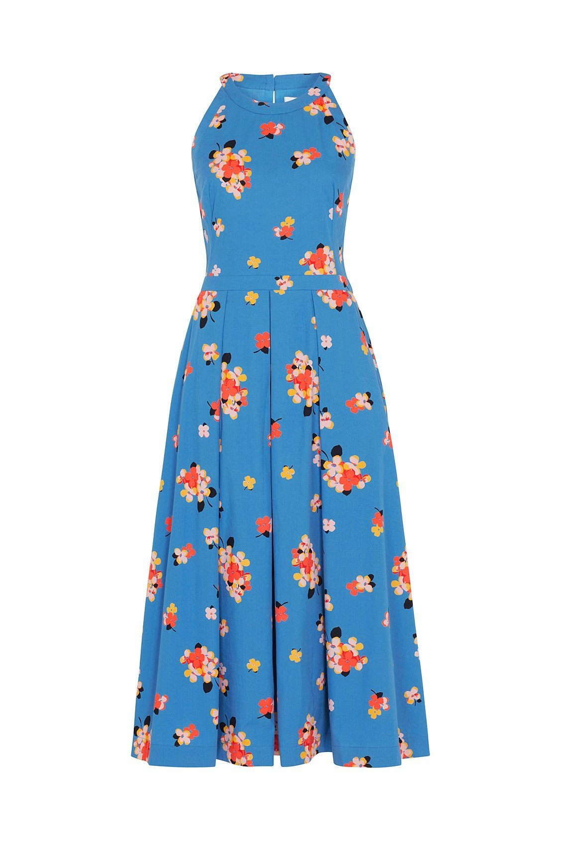 Alyssa Emily & Fin Sweet Summer Blooms Midi Dress - BouChic