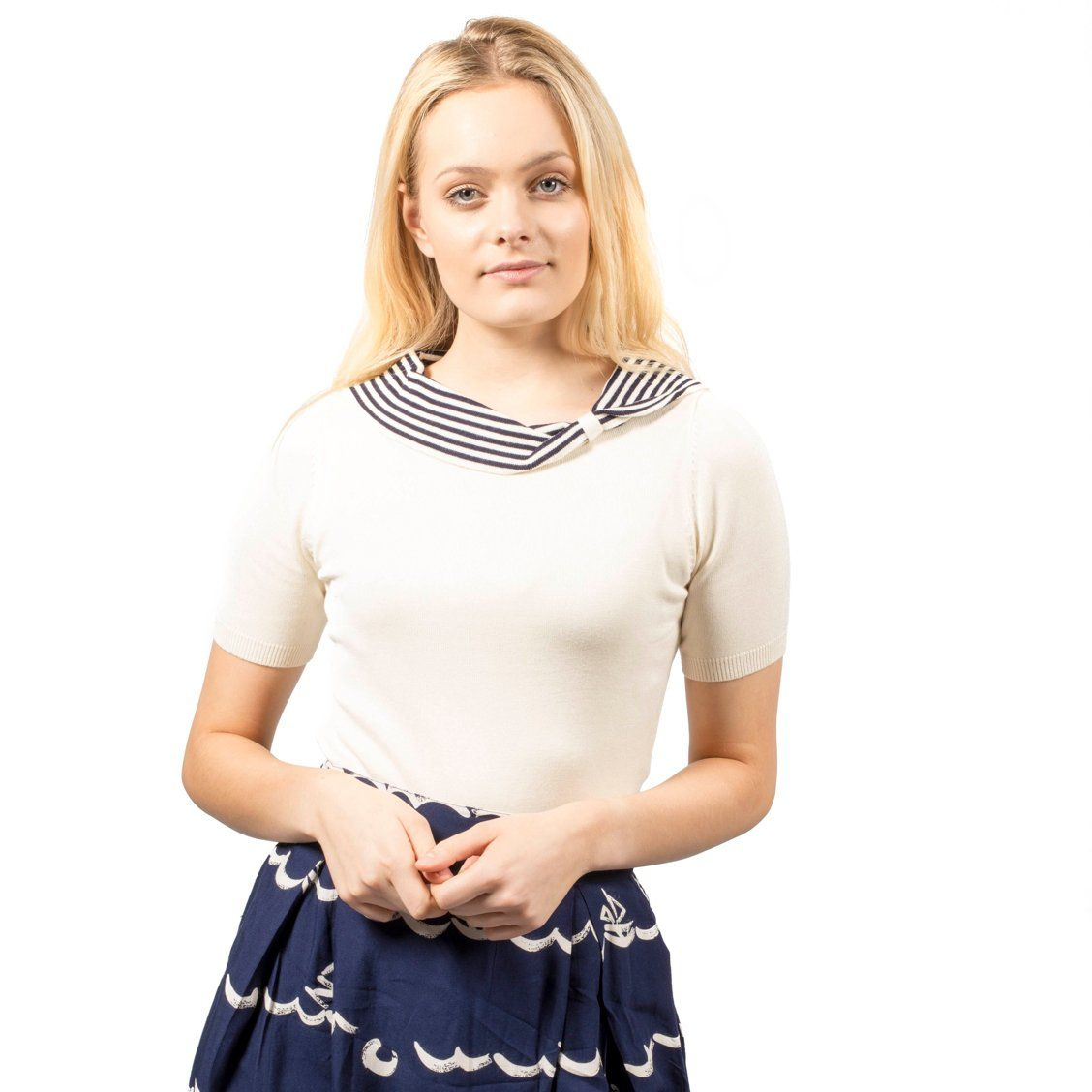 Fever Designs Annette Knitted Top - BouChic