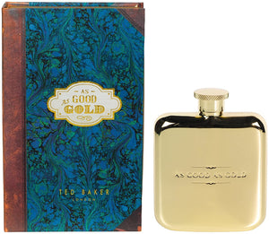 'As Good As Gold' Ted Baker Hip Flask - BouChic