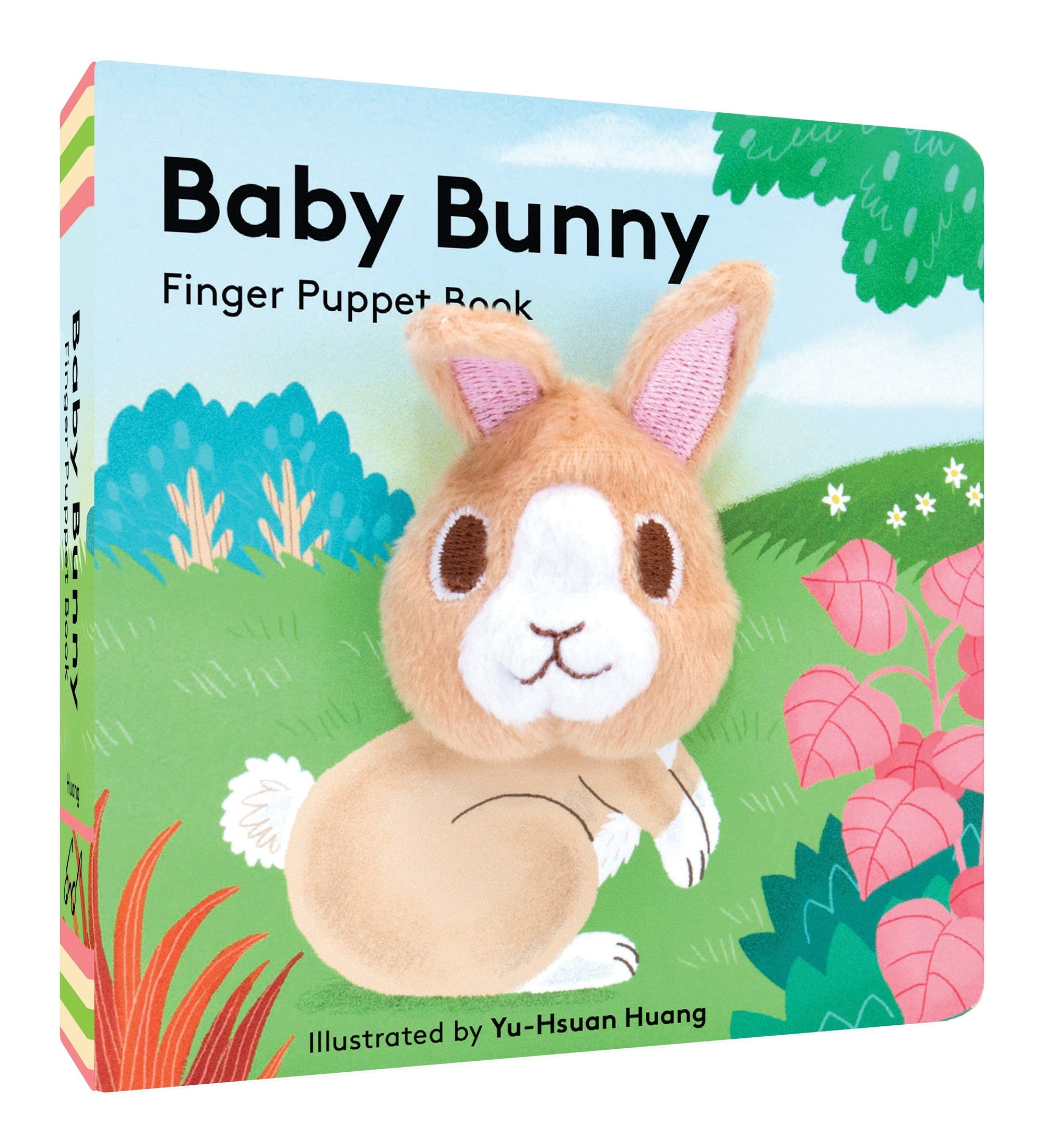 Baby Bunny Finger Puppet Book - BouChic