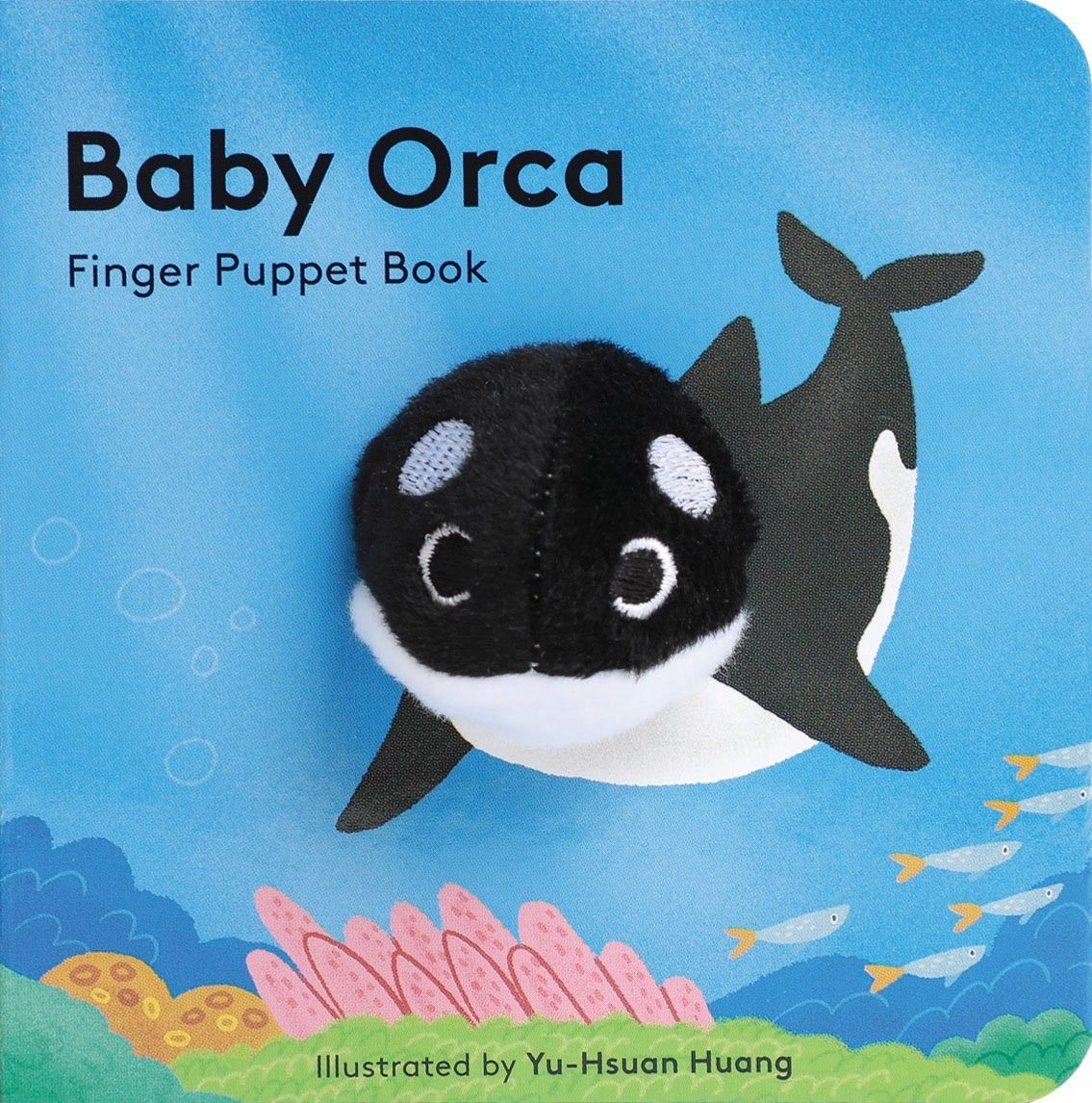 Baby Orca Finger Puppet Book - BouChic