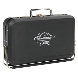 Barbecue Suitcase Style - Black - BouChic