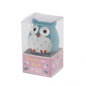 Barny the Owl Lip Gloss - Apple - BouChic