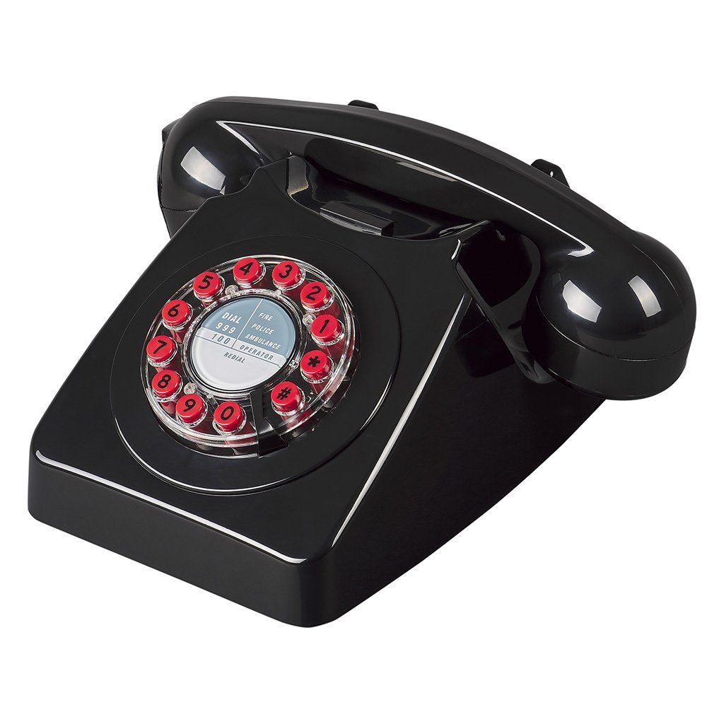 Black 746 Telephone - BouChic