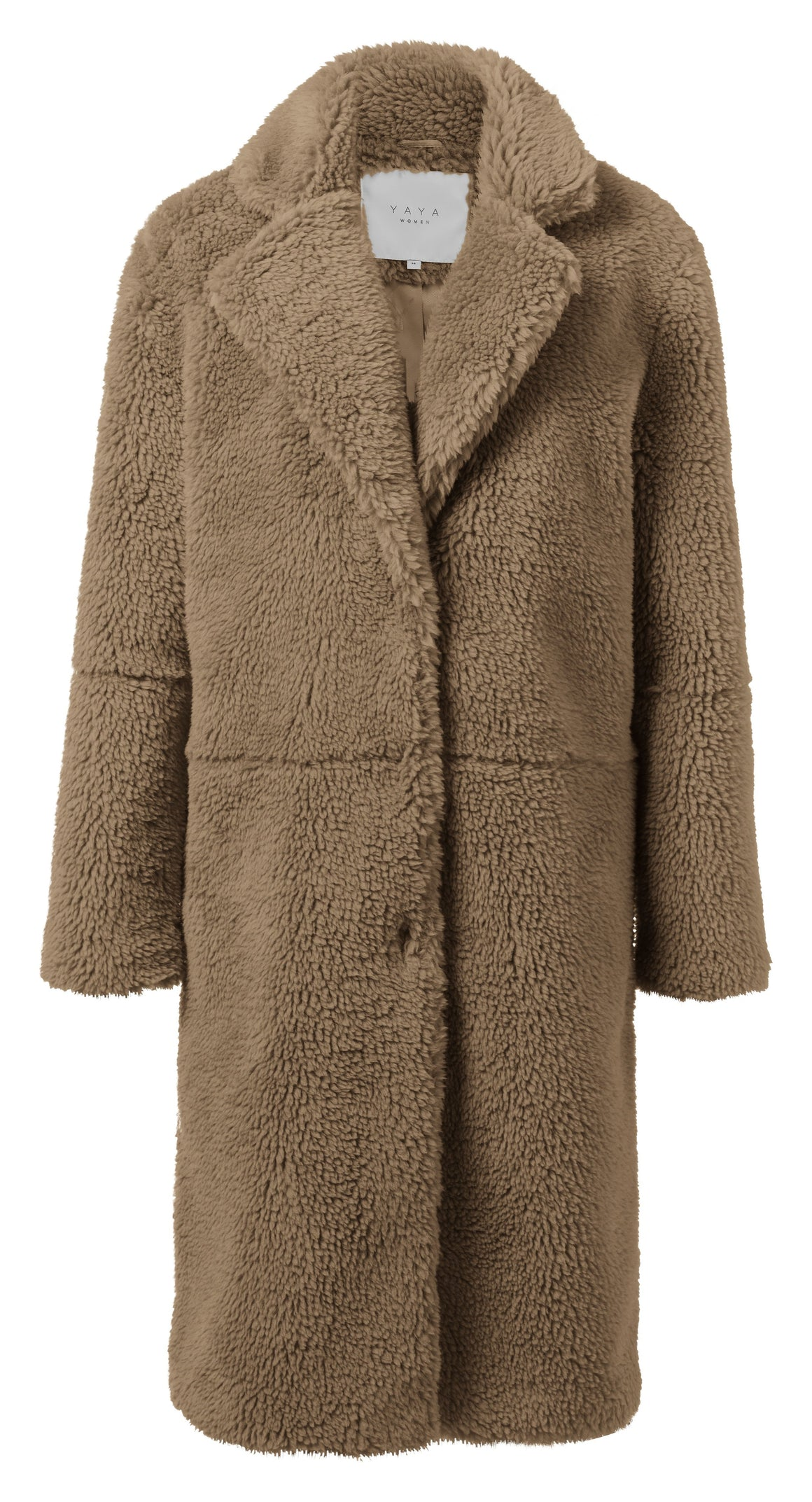 Brown YaYa Teddy Coat Coat BouChic | Homeware, Fashion, Gifts, Accessories