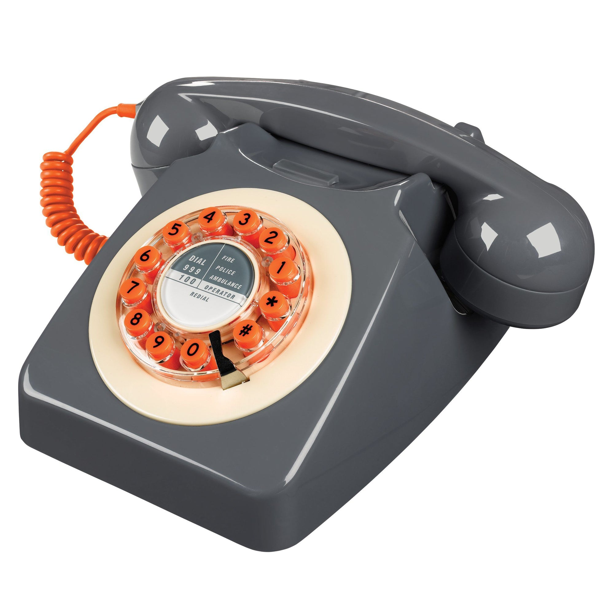 Concrete Grey 746 Telephone Classic 1960's Design - BouChic
