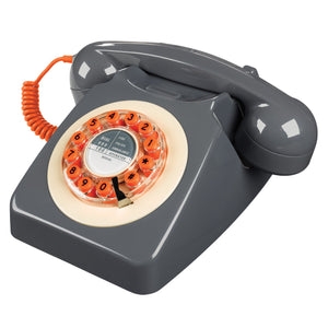 Concrete Grey 746 Telephone Classic 1960's Design Telephone Bouchic