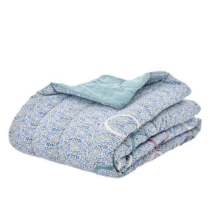 Cotton Quilt Blue - BouChic