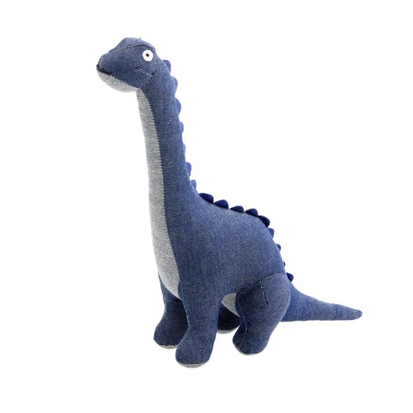 Dinosaur Dark Blue Soft Toy - BouChic