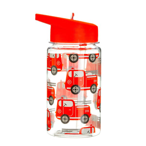 Drink Up Fire Engine Water Bottle - BouChic