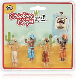 Drinking Buddies Drink Markers - Cowboys - BouChic