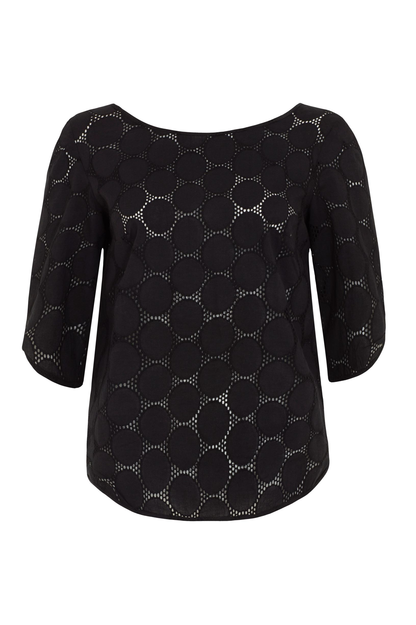 Emily & Fin Mabel Top Black - BouChic