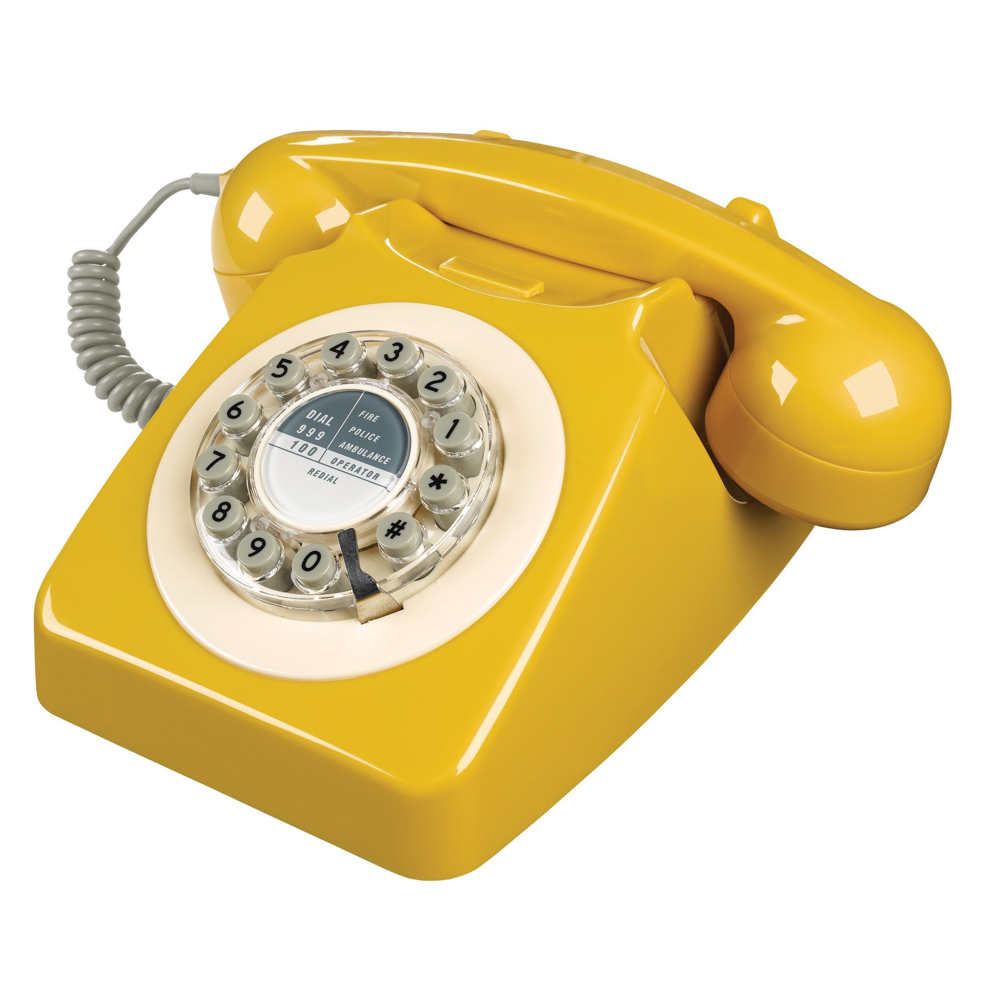 English Mustard 746 Telephone Classic 1960's Design - BouChic