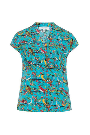 Esther Emily & Fin Top Aztec Birds - BouChic