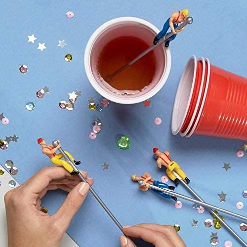 Fireman Buddies Novelty Drink Stirrers - BouChic