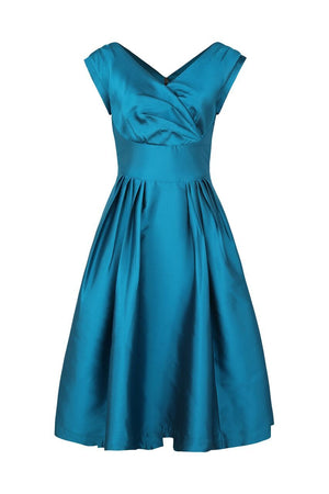 Florence Emily & Fin Teal Occasion Dress - BouChic