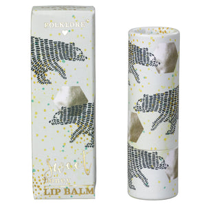 Folklore Sweet Honey Polar Bear Lip Balm - BouChic