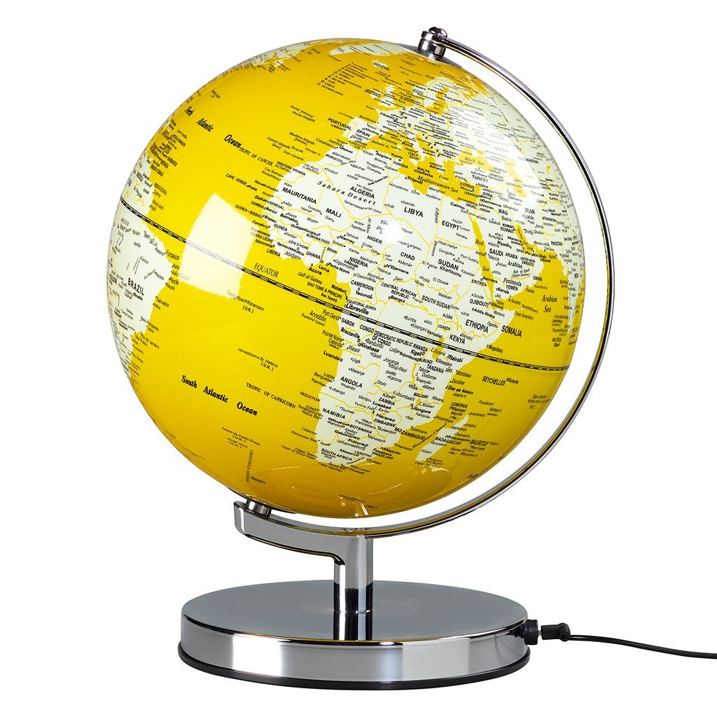 "Globe Light 10"" English Mustard - BouChic"