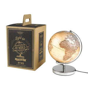 "Globe Light 10"" Silver - BouChic"