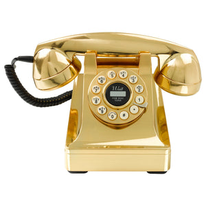 Gold Telephone Classic 1960's Design - BouChic