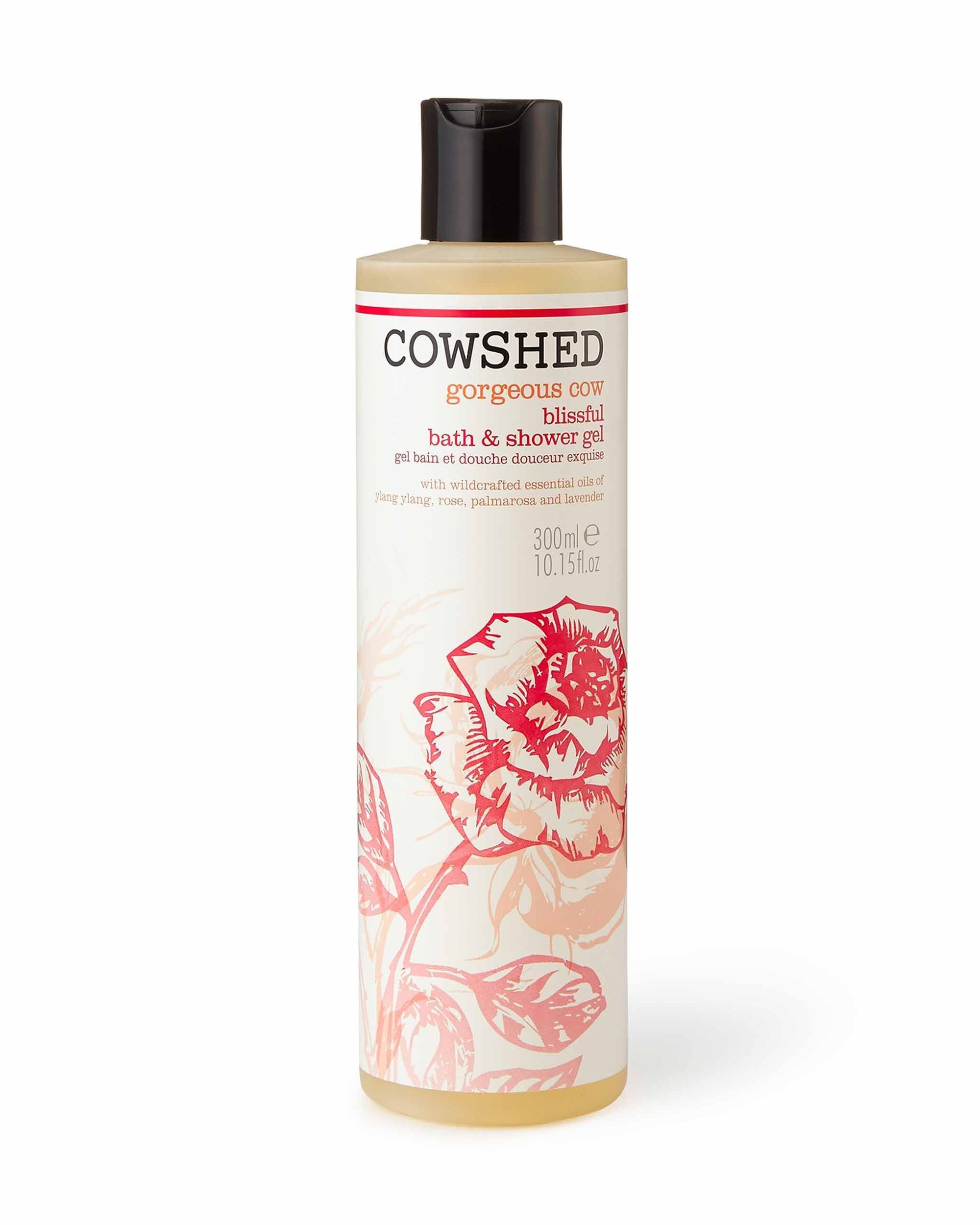 Gorgeous Cow Blissful Bath & Shower Gel (300ml) Cowshed - BouChic