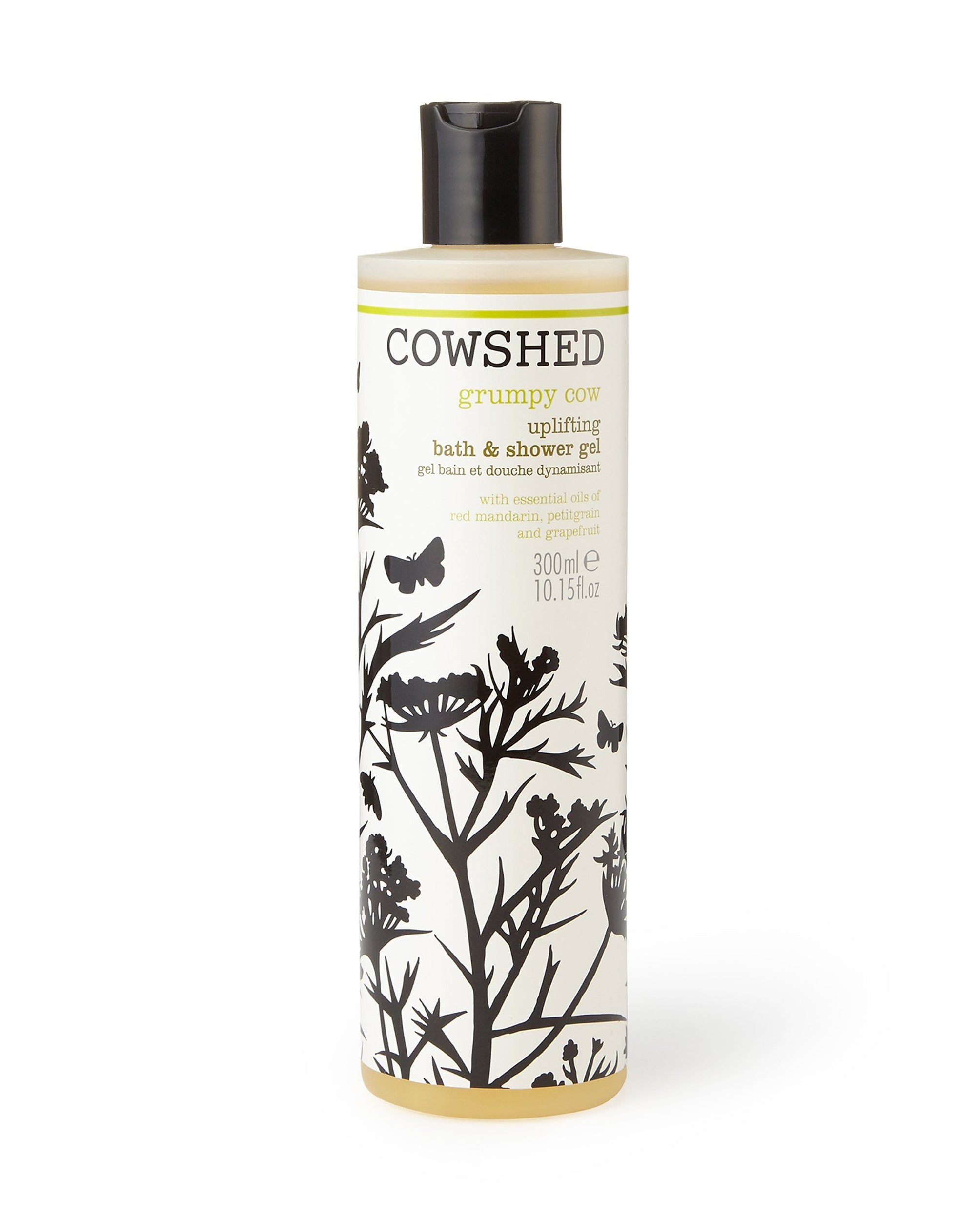 Grumpy Cow Uplifting Bath & Shower Gel (300ml) Cowshed - BouChic