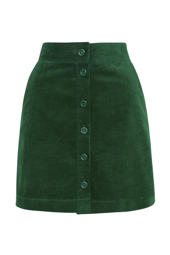 Iris Emily & Fin Emerald Cord Skirt Skirt BouChic | Homeware, Fashion, Gifts, Accessories