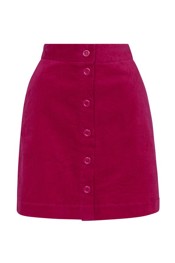 Iris Emily & Fin Lipstick Pink Cord Skirt Skirt BouChic | Homeware, Fashion, Gifts, Accessories