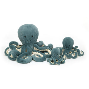 Storm Octopus Blue Medium - BouChic