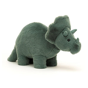 Jellycat Fossilly Triceratops - BouChic
