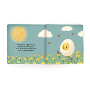 Jellycat Happy Egg Board Book - BouChic