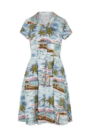 Kate Paradise Island Shirt Dress Dress BouChic | Homeware, Fashion, Gifts, Accessories