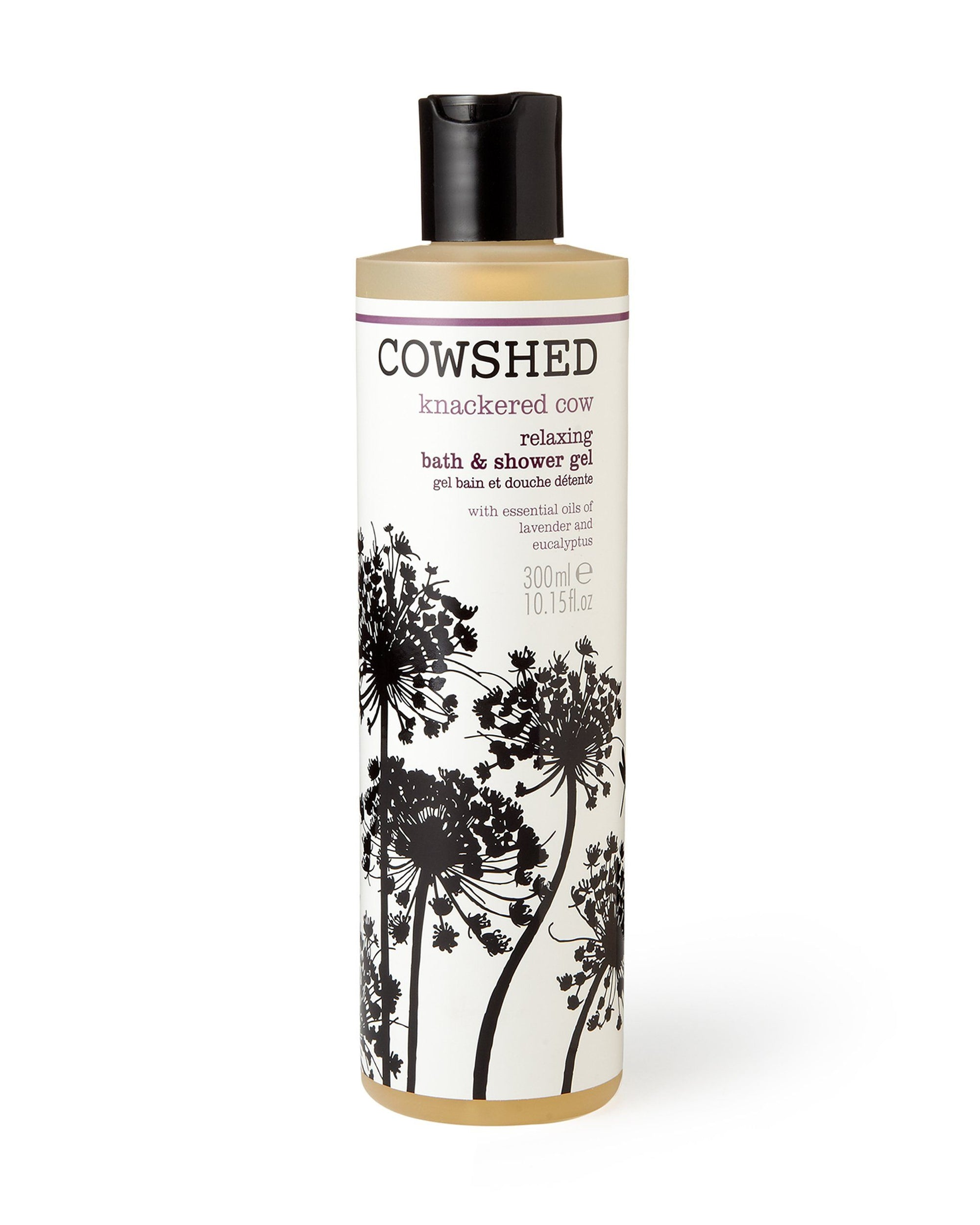 Knackered Cow Relaxing Bath & Shower Gel (300ml) Cowshed - BouChic
