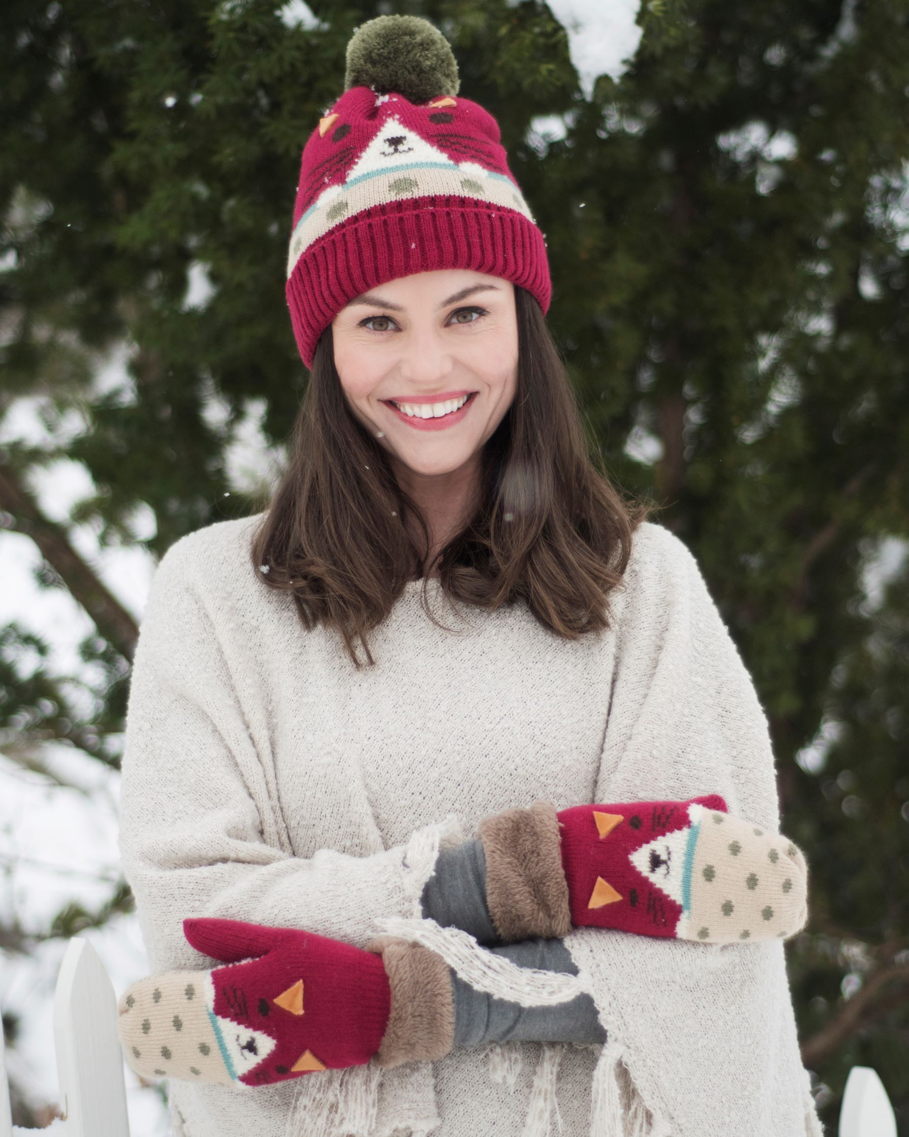 Ladies Cosy Cat Mittens - BouChic