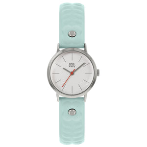 Ladies Light Blue Leather Strap Watch - BouChic