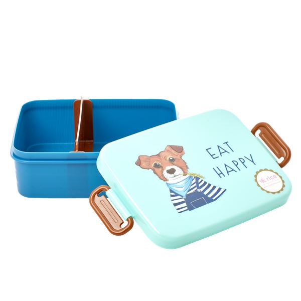 Large Lunch Box Dog Print - BouChic