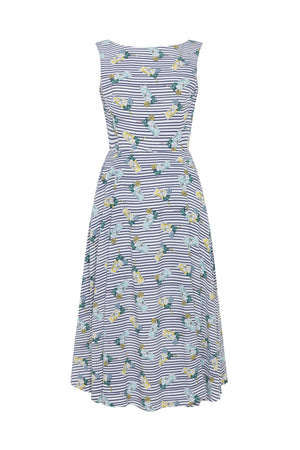 Lemon Stripe Dress Dress BouChic | Homeware, Fashion, Gifts, Accessories