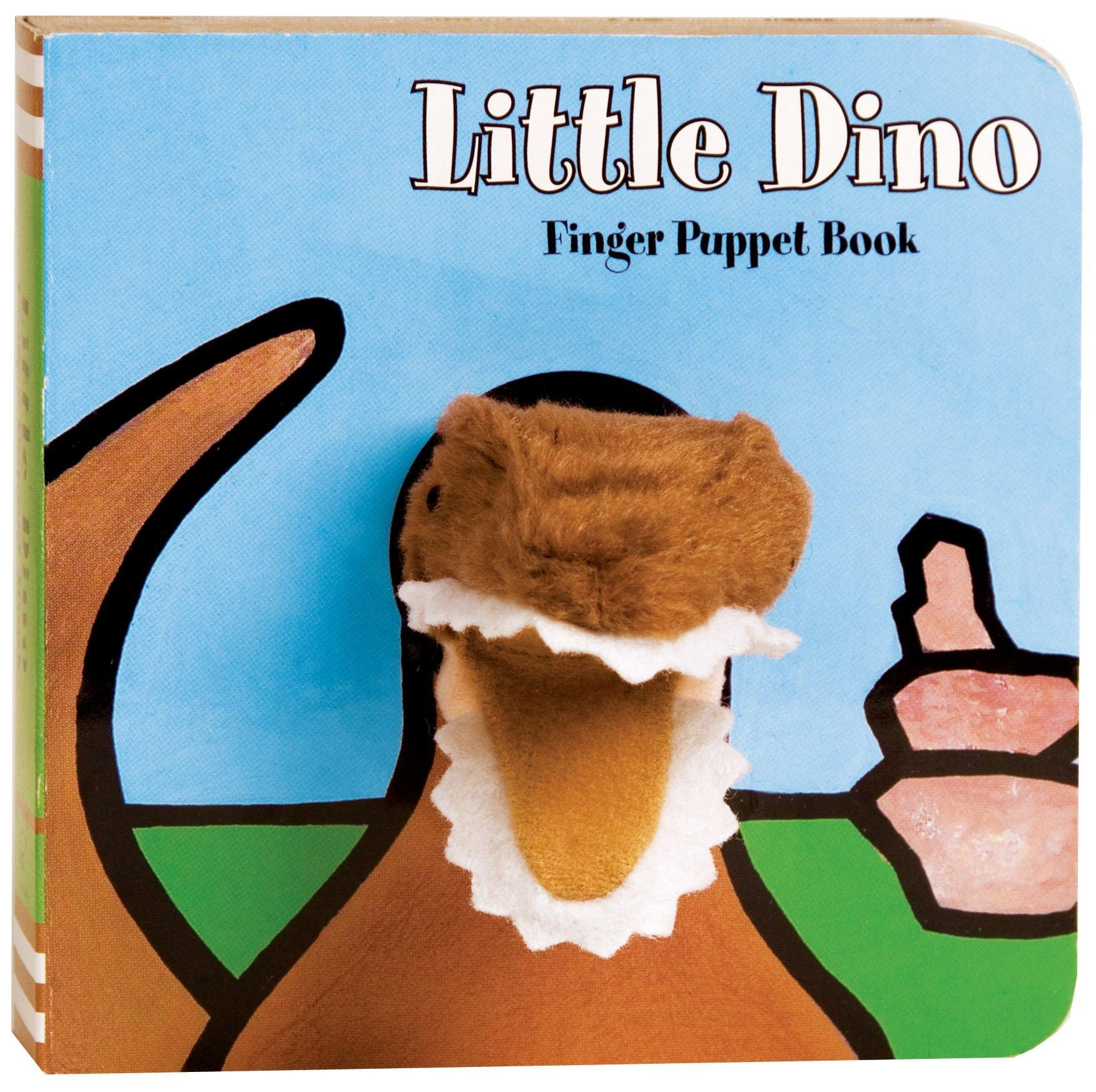 Little Dino Finger Puppet Book - BouChic