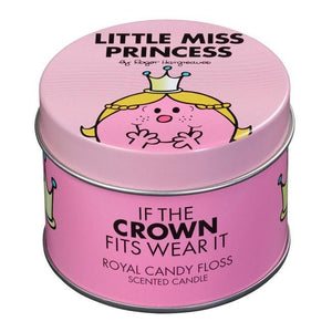 Little Miss Princess Candle - Candy Floss - BouChic