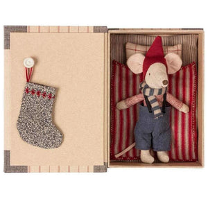 Maileg Big Brother Christmas Mouse in Book Box - BouChic