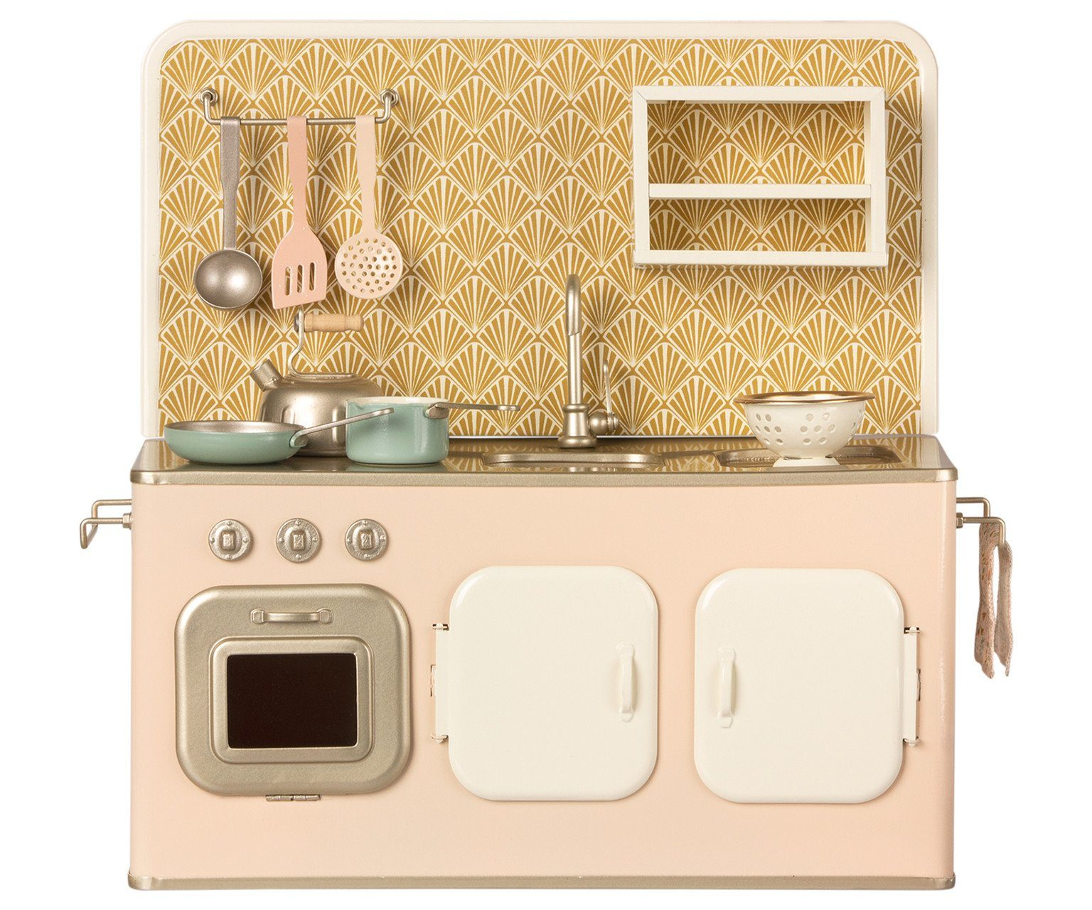 Maileg Kitchen in Powder Pink - BouChic
