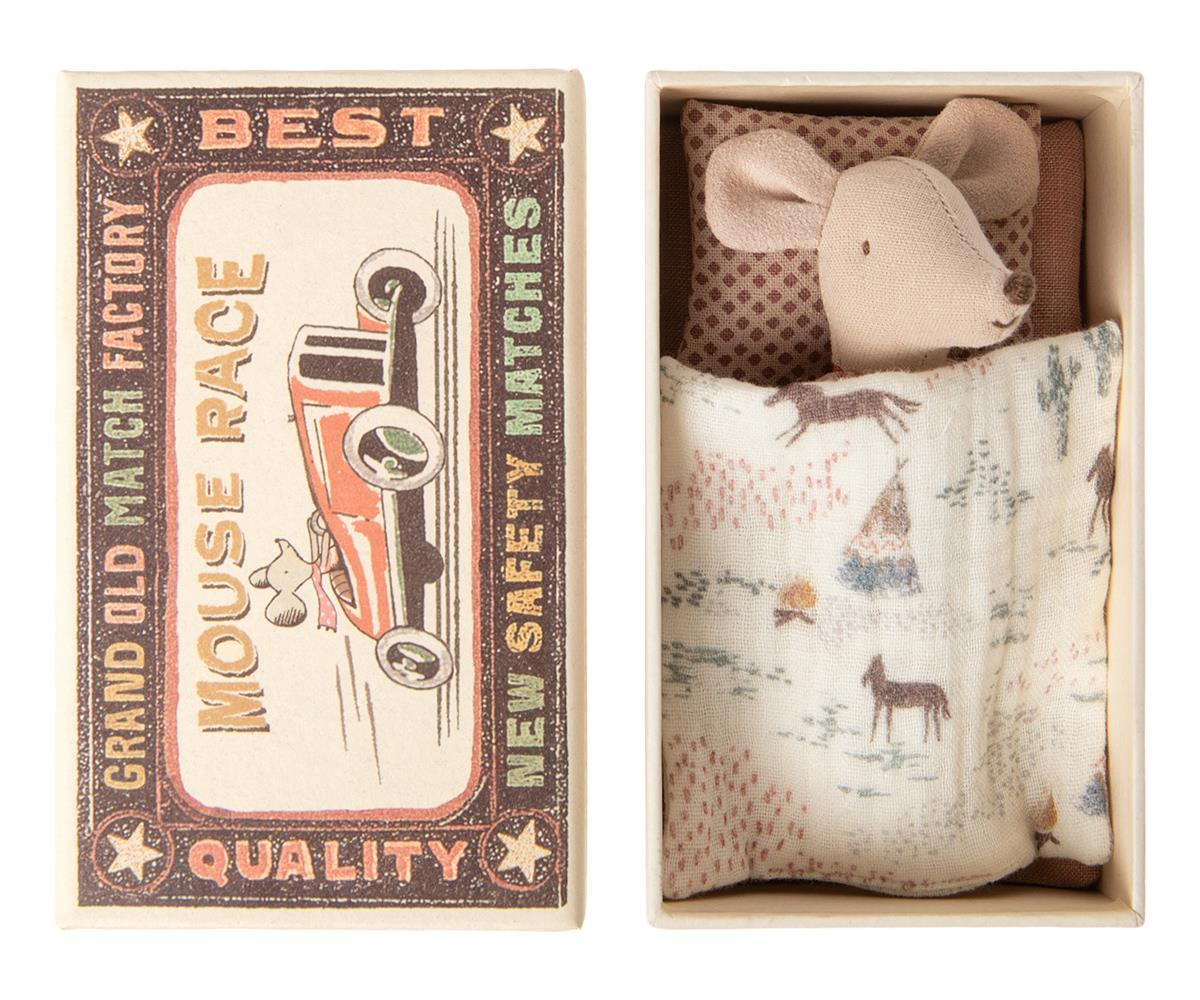 Maileg Little Sister Mouse in Matchbox - BouChic