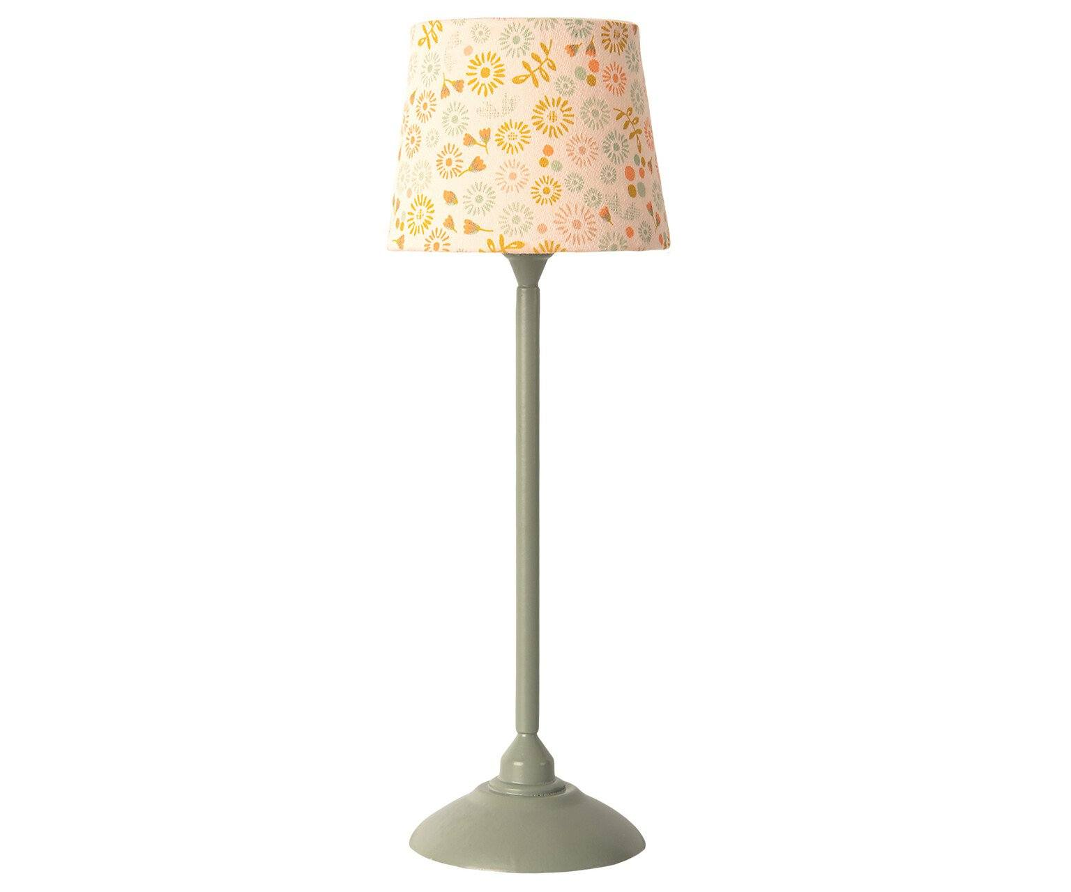 Maileg Miniature Floor Lamp Mint - BouChic