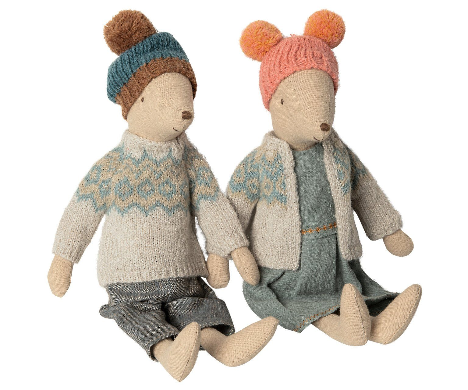 Maileg Winter Mouse Medium Boy - BouChic