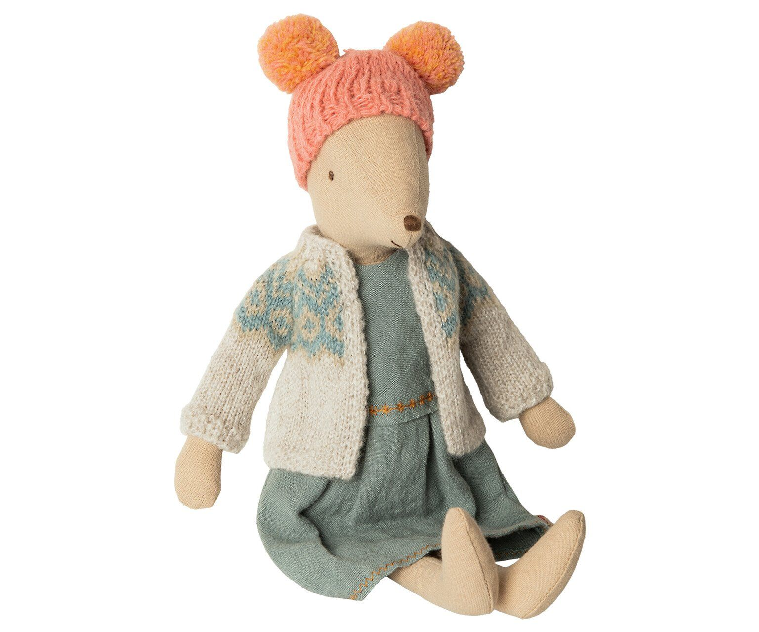 Maileg Winter Mouse Medium Girl - BouChic