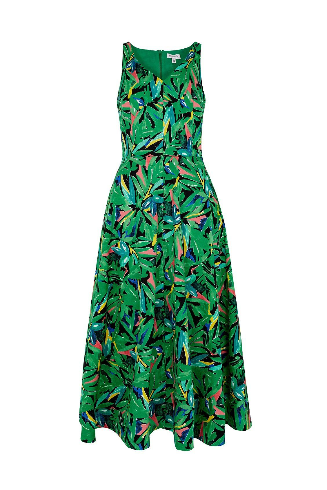 Margot Hothouse Palms Midi Dress Dress BouChic | Homeware, Fashion, Gifts, Accessories