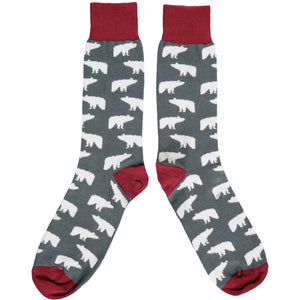 Men's Polar Bear Cotton Ankle Socks socks BouChic