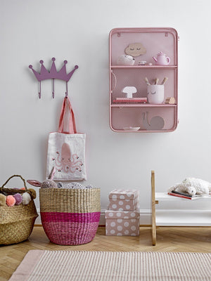 Metal Wall Cabinet - Rose - BouChic