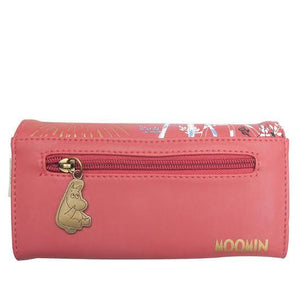 Moomin Coral Red Sun Wallet - BouChic